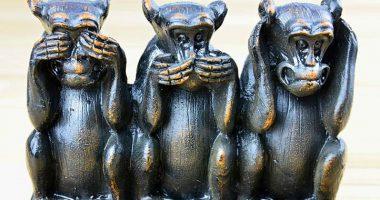 Chi sono le tre scimmiette sagge